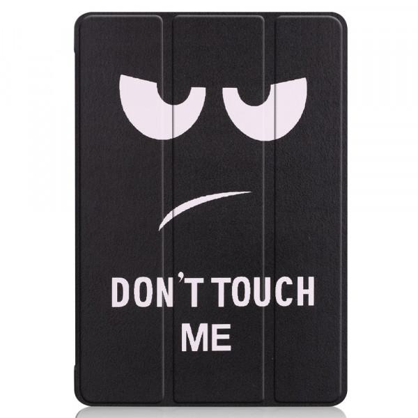 MediaPad T5 10.1 - Tri-fold Smart Leder Tasche Hülle Don't Touch