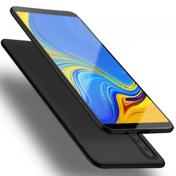 Galaxy A7 2018 - X-LEVEL Guardian Silikon Gummi Case schwarz