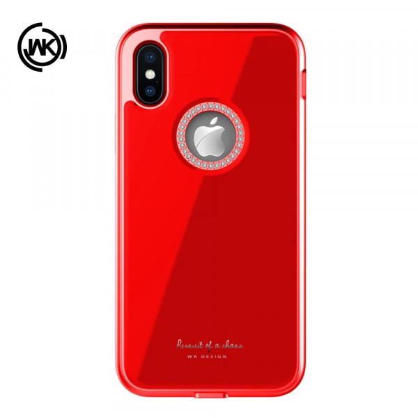 iPhone Xs Max - WK Ginstone Series Strass Glitzer rot