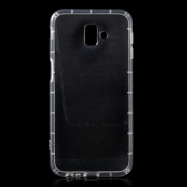 Galaxy J6+ PLUS 2018 - Silikon Gummi Hülle Case transparent