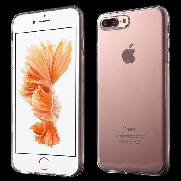 iPhone 7 Plus - Gummi Silikon Hülle extra dünn transparent