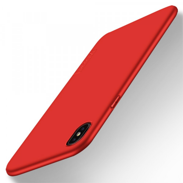iPhone XR - X-LEVEL Guardian Silikon Gummi Case rot