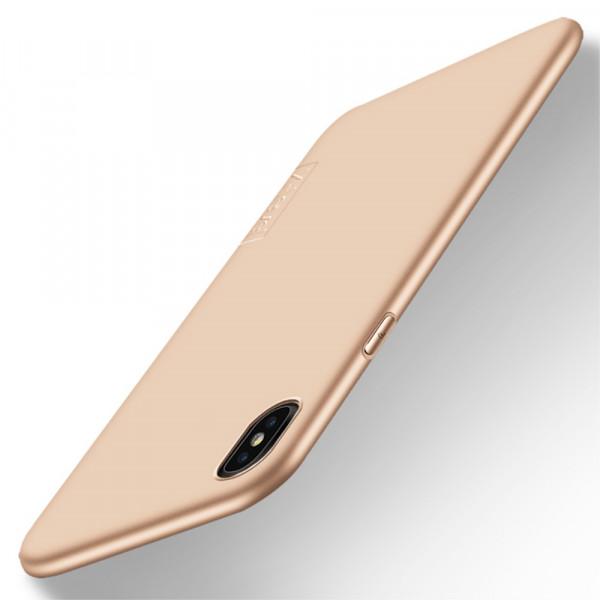 iPhone XR - X-LEVEL Guardian Silikon Gummi Case gold