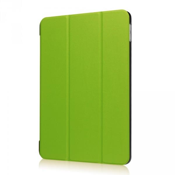 iPad 9.7 2017 - Tri-fold Smart Leder Case grün