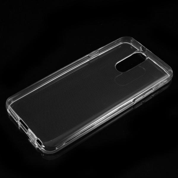 LG Q7 - Ultra dünne Silikon Gummi Hülle transparent