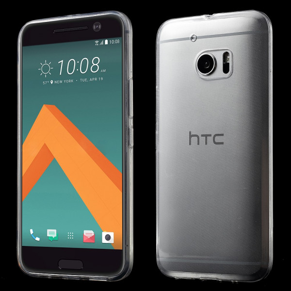 HTC 10 - Ultra dünne Silikon Gummi Hülle transparent