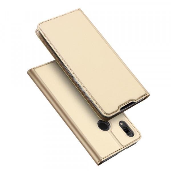 P Smart 2019 - Dux Ducis Leder Flip Folio Case gold