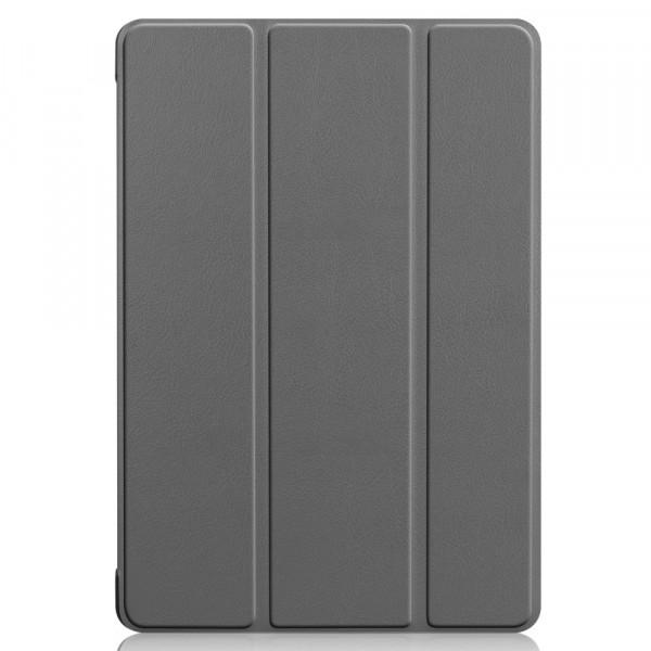 MediaPad T5 10.1 - Tri-fold Smart Leder Tasche Hülle grau